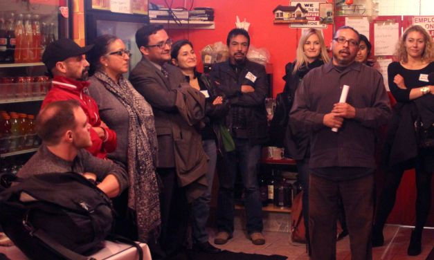 New and Old Residents Engage Over Pupusas