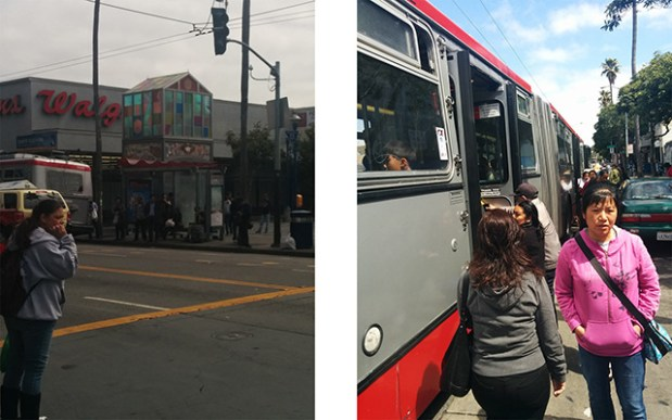 At 16th Street in the Mission. Photo by Laura Wenus