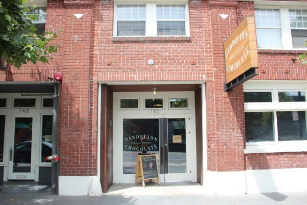 Dandelion Chocolate has been located at 740 Valencia Street since 2012, but plans to open a new factory at 16th and Alabama. Photo by Joe Rivano Barros.