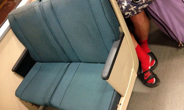 Burning Question: Those Old Gross BART Seats