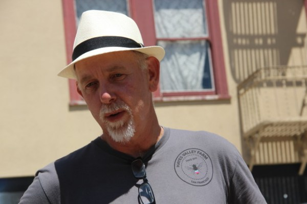 Chris Carlsson, a local historian and writer, said Shaping San Francisco hopes to revive San Francisco's lost public spaces. Photo by Leslie Nguyen-Okwu.