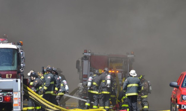Photos and Video from the 5-Alarm Fire