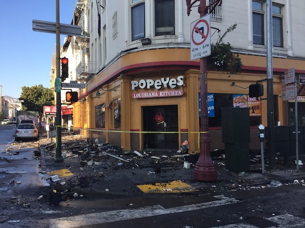 Popeyes at 22nd and Mission. Photo by Lydia Chavez.