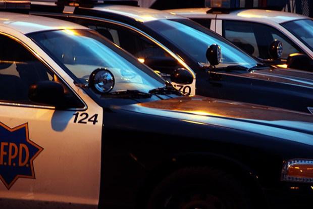 police cars crime