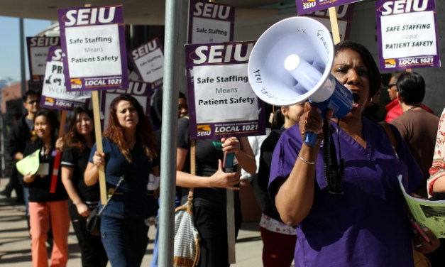 Union Workers Demand that SF General Hospital Hire More Nurses