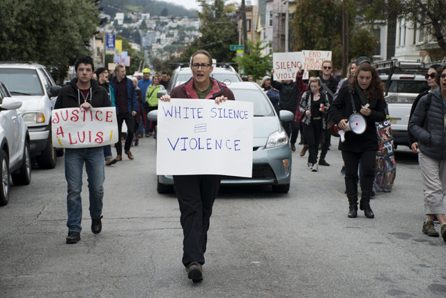 Police Shooting Protest Interrupts Sunday Streets