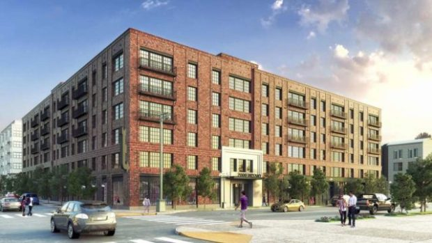 Rendition of the market-rate site at 2000 Bryant St. Courtesy of Nick Podell.