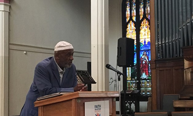 Faith Group Questions Officials on Police Reform