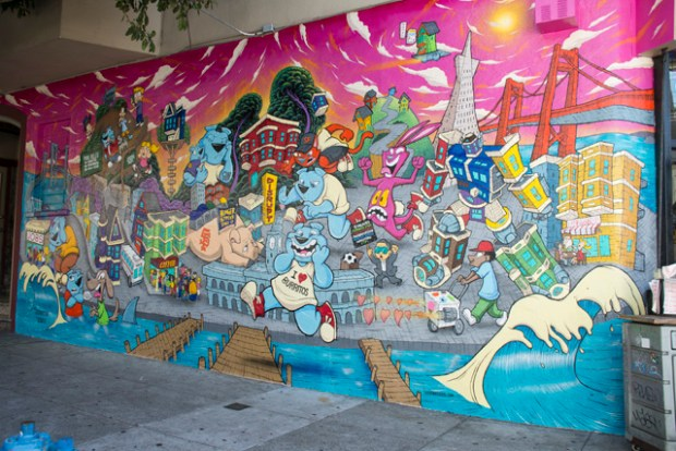 """20th and Bryant, """"The Disruption"""" by Sirron Norris. Photo by Lola M. Chavez"""