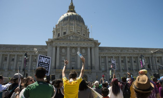 Workers, immigrants, rally for May Day