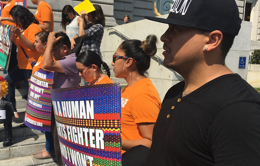 Mission and SF respond with outrage and fear to Trump ending DACA