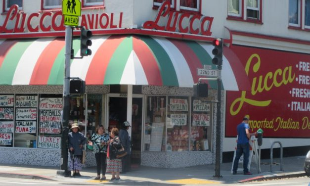 Lucca Ravioli Company parking lot on sale for $3 million