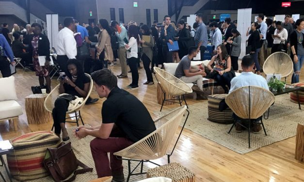 Diverse candidates crowd SF tech job fair, but tradition may clog pipeline