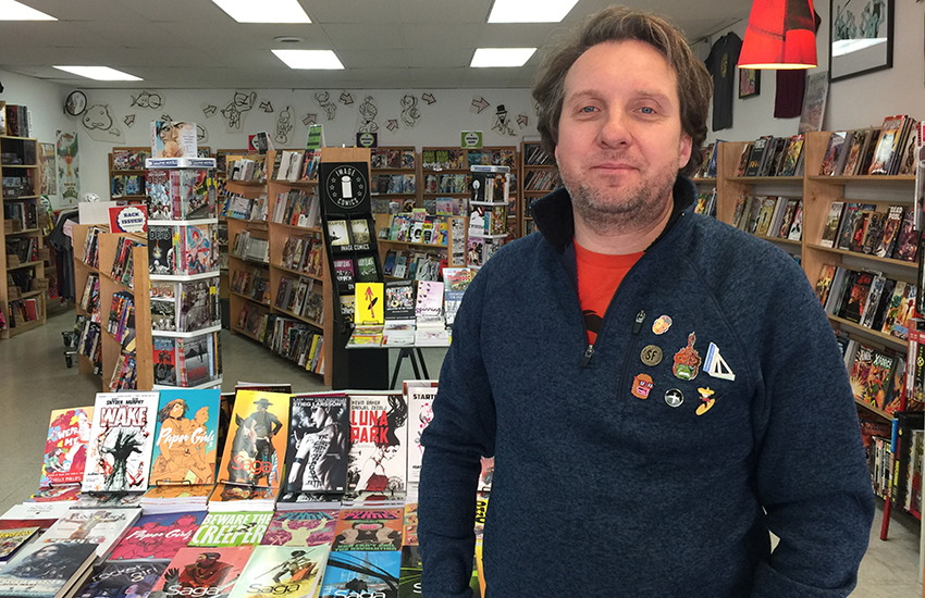 The SF Mission's only comic book store in danger of closing