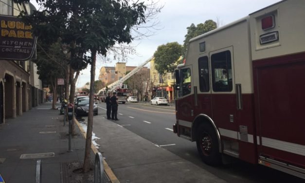 One-alarm fire on Valencia Street contained