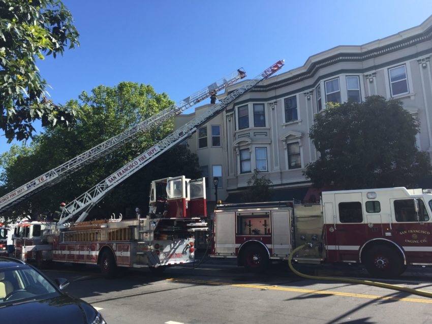 Neighborhood Notes: Valencia Street dryer fire, Mission Crit, and Equipto's Timeless Cypher
