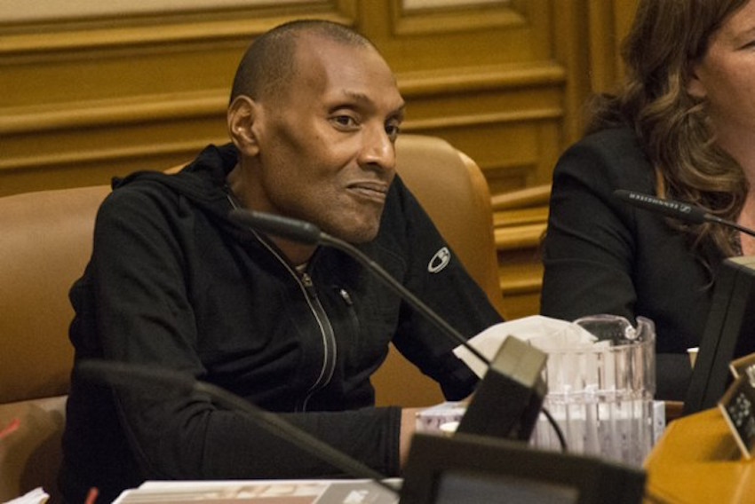 SF Police Commissioner Julius Turman, lover and fighter