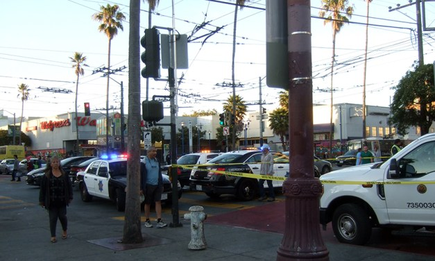 Car strikes pedestrian at 16th and Mission (updated)