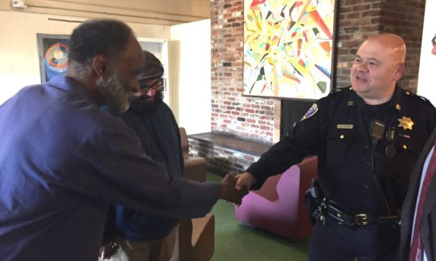 SF cops infiltrate Mission Hotel, enjoy coffee and donuts with SRO residents