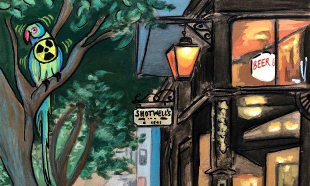 Distillations: Shotwell's, a refuge from San Francisco, radioactivity, and radioactive parakeets