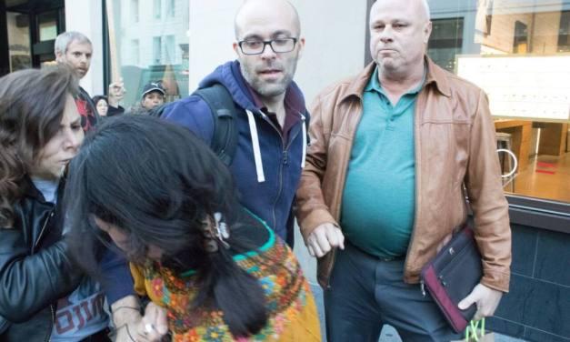 KPOO radio host Chelis López involved in altercation at anti-Kavanaugh march