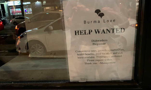 Burma Love needs cooks and dishwashers