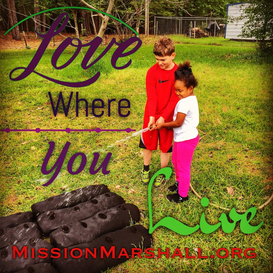 Love Where You Live Mission Marshall - Family Gardin Initiative