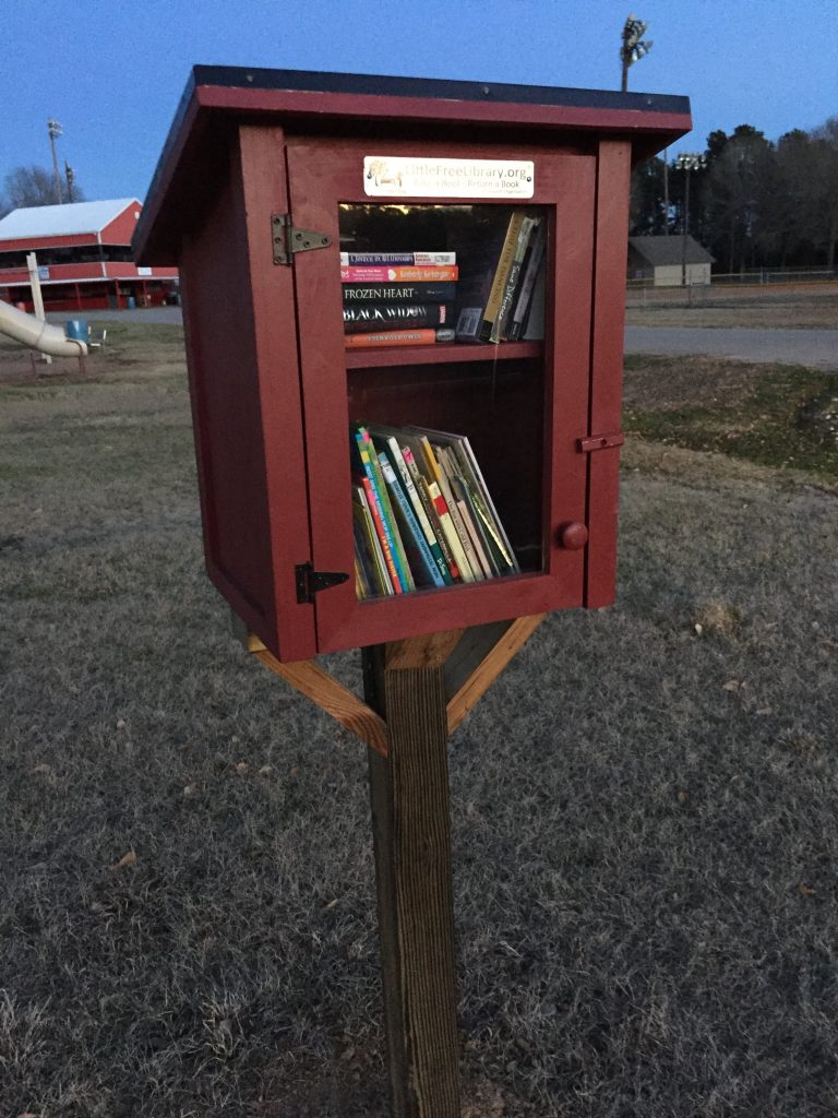 Little Free Libraries at Airport Park in Marshall Texas - Sponsored by Mission Marshall
