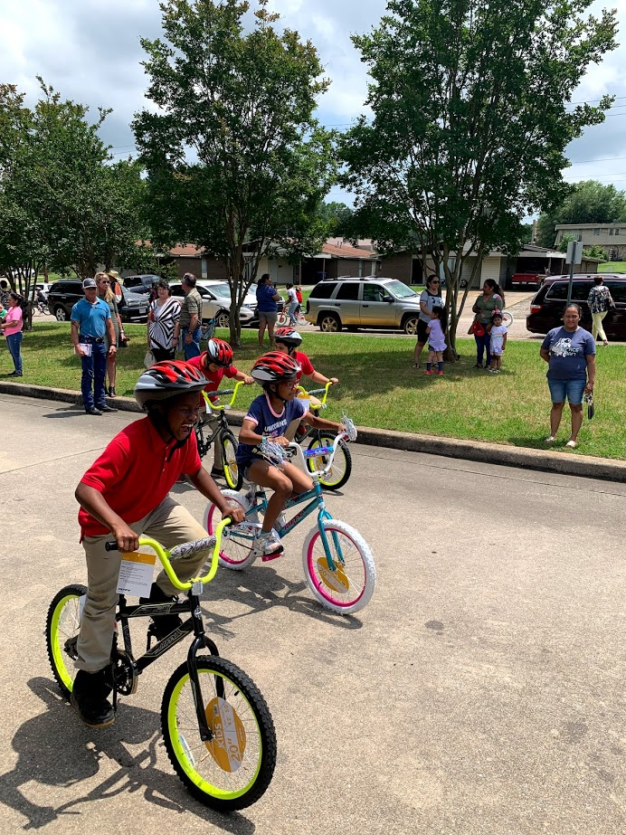 Read to Ride 2019 Sam Houston Elementary