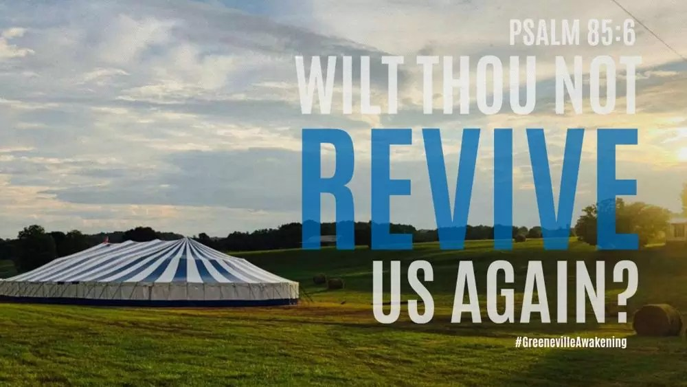 'God is Pouring Out His Spirit:' Tennessee Tent Revival in 21st Week, Nearly 700 Accept Christ