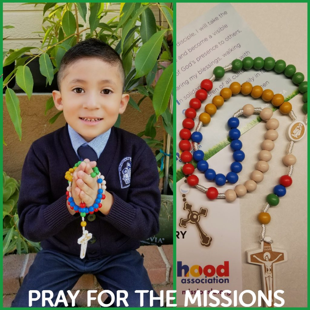World Mission Rosary The Pontifical Mission Societies In Los Angeles