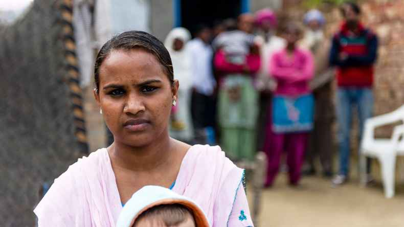 Photo of woman helped by GFA Woman Missionary