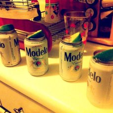 "Meredith makes us ""special"" Modelos at our planning meeting at her apartment."