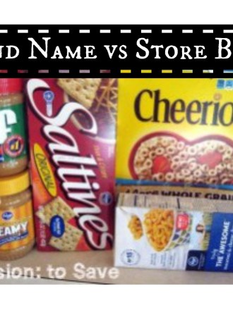 Brand Name vs Store Brand- Answer Might Shock You!