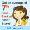 BeFrugal- Saving You MORE By Earning Cash Back for Online Purchases!