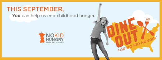 dine out for no kid hungry