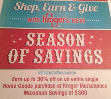 Kroger Season of Savings