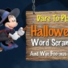 Disney Movie Rewards: 25 New Points With Halloween Word Scramble Game