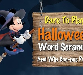 Disney Movie Rewards Halloween Points