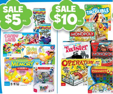Toys R Us Board Game Deals 4 Each For Candy Land And Memory More