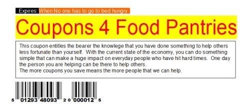 Donate Unused Coupons