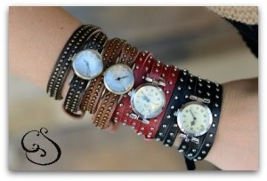 wrap style watches