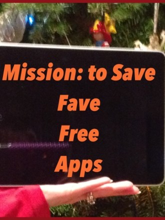 Check out list of my fave free apps for helping you save money and time (on missiontosave.com)