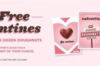 Krispy Kreme Valentine