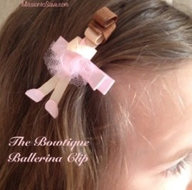 The Bowtique Giveaway on Mission to Save (ballerina)