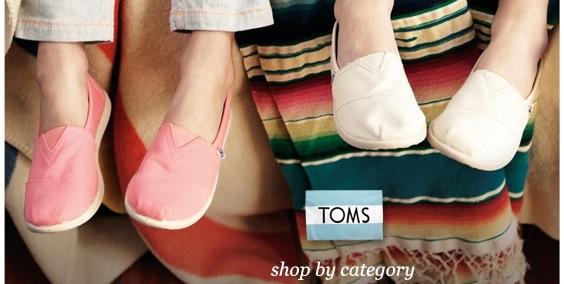TOMS on Sale