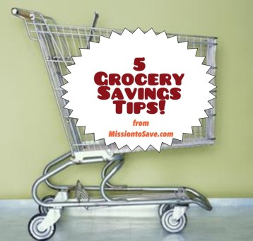 Do you want to know how to save on groceries? Looking to reduce your monthly grocery budget? There are tons of ways to save- but here are 5 Simple Grocery Savings Tips to get you started!