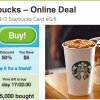 starbucks groupon