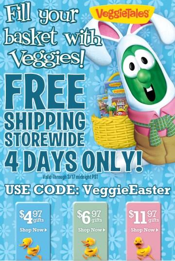 veggie tales easter sale