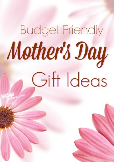 Giving a thoughtful gift doesn't have to break the bank. Check out these Budget Friendly Mother's Day Gift IdeasLooking for a great Mother's Day present? But don't want to break the bank? Check out this thrifty list of gift ideas for mom. List of Budget Friendly Mother's Day Gifts